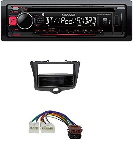 Kenwood KDC-BT500U CD MP3 USB Bluetooth AUX Autoradio für Toyota Yaris (2003-2006)
