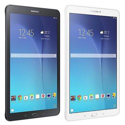 Samsung Galaxy Tab E 9.6 WiFi 8GB SM-T560 *Neu* Händler Schwarz oder Weiß