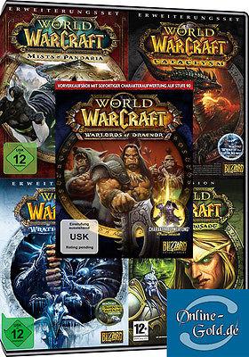 WoW - Battlechest 6.0 + Alle Addons [WoW][TBC][WotLK][Cataclysm][MoP][WoD] PC EU
