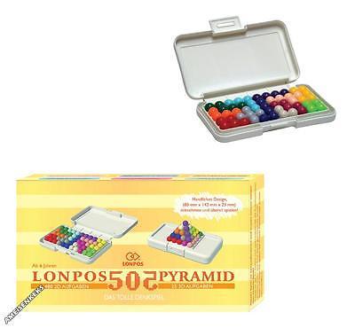 Original LONPOS 505 Aufgaben Denkspiel Reisespiel Gehirntraining 3D Aufgaben NEU