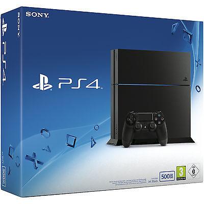 SONY PlayStation 4 Konsole CUH-1216A 500GB Schwarz