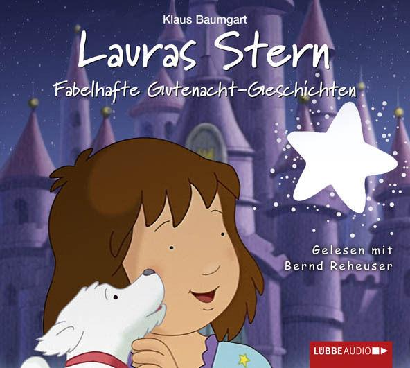 + Baumgart : Lauras Stern 10 Fabelhafte Gutenacht-Geschichten CD HörSpiel NEU