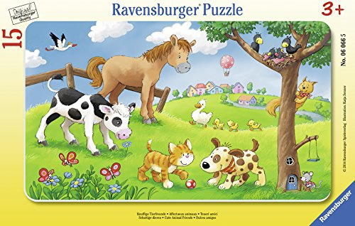 Ravensburger 06066 - Knuffige Tierfreunde