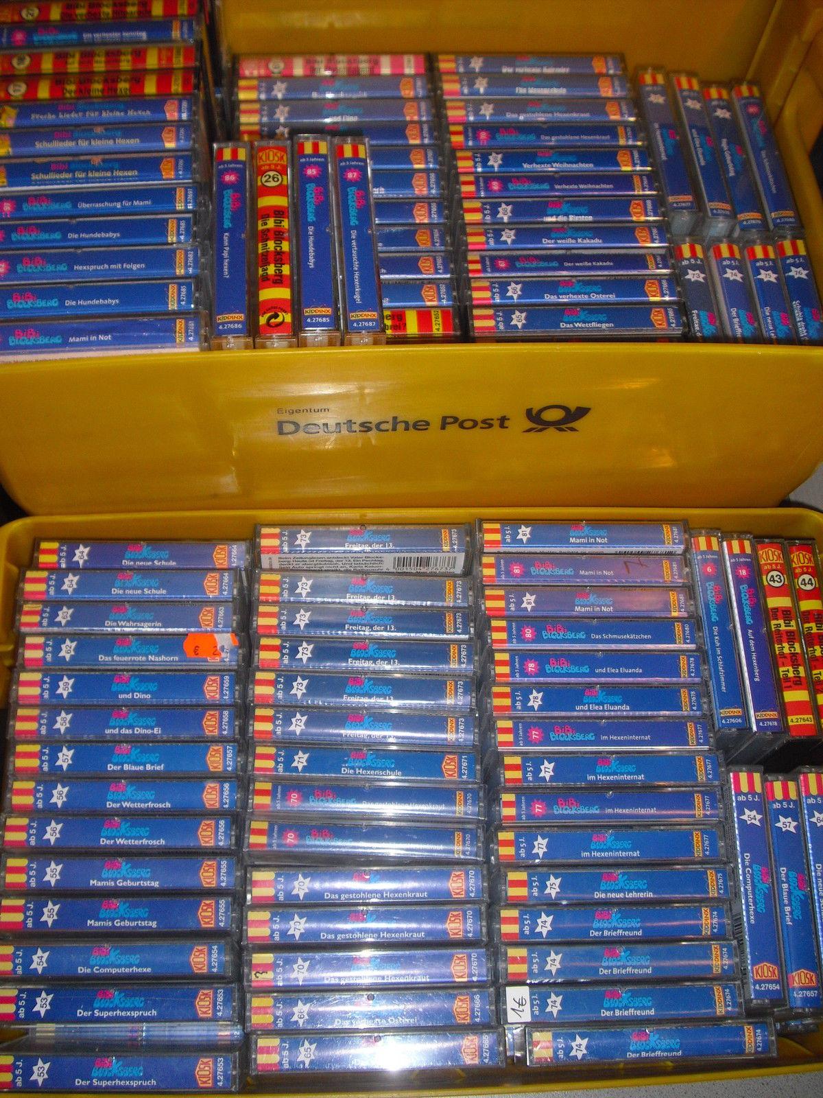Bibi Blocksberg oder Bibi und Tina 10 Kassetten auswählen. Auswahl aus über 100