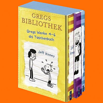 Jeff Kinney | GREG'S TAGEBUCH BAND 4-6 | Band 4+5+6 Schuber | Gregs (Buch)