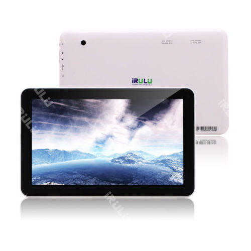 iRULU 10.1 Zoll Tablet PC Android 5.1 Lollipop Quad Core WIFI Bluetooth 1G/16G