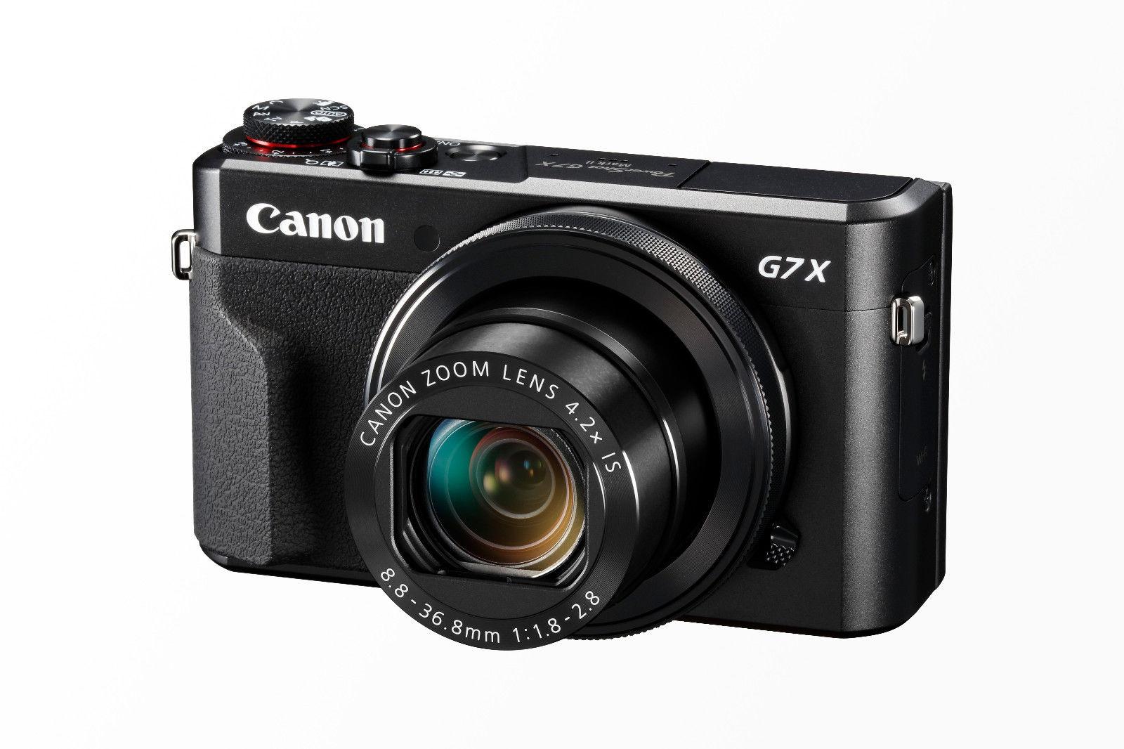 CANON PowerShot G7X Mark II --   25,-  Cash Back Canon / Winteraktion