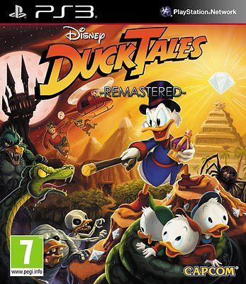 PS3 Spiel Ducktales Duck Tales Remastered Neuware
