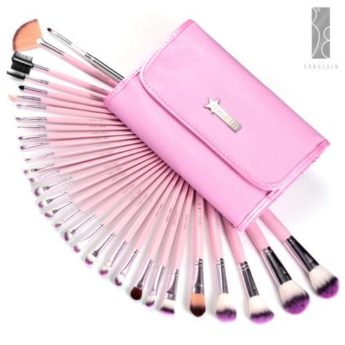 31er Pinselset Kosmetik Pinsel Set Brush Set Bürste Makeup Tasche Set