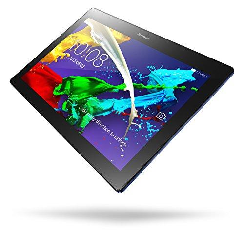 Lenovo TAB2 A10-30 25,65 cm (10,1 Zoll HD IPS) Media Tablet (QC APQ8009 Quad-Core Prozessor, 1,3GHz, 2GB RAM, 16GB eMMC, 2MP +  5MP Kamera, Touchscreen, Dolby Atmos Sound, Android 5.1) midnight blau