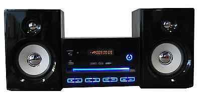 NEU LED Stereoanlage Design Kompaktanlage Mini Hi-Fi Musikanlage CD USB Player
