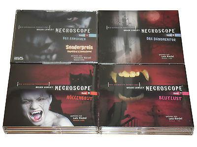 XXL Hörbuch-Paket  4 Necroscope HORRROR Hörbücher auf 18 CDs - Wahnsinns-Preis!!