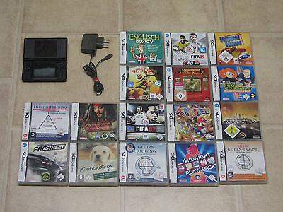 Nintendo DS Lite mit Zubehörpaket + 3 Gratis Spiele
