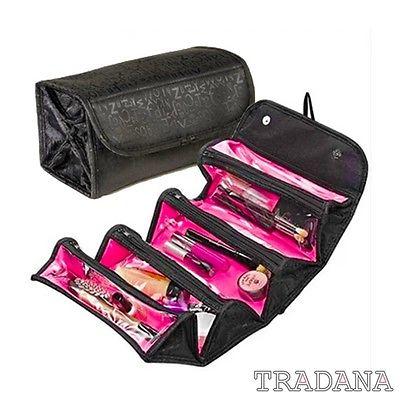 Kosmetiktasche Kulturbeutel Kulturtasche Reise Kosmetik Tasche schwarz pink NEU