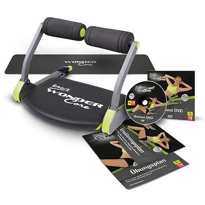 Wonder Core Smart Original inkl. Workout DVD Fitnessgerät Bauchtrainer MediaShop