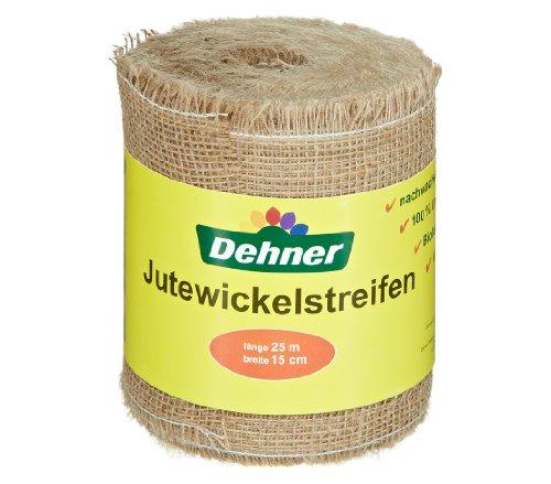 Dehner Jute-Wickelstreifen, ca. 25 m x 15 cm