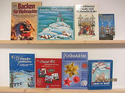 60 Bücher Weihnachten Advent Christfest weihnachtliche Bücher