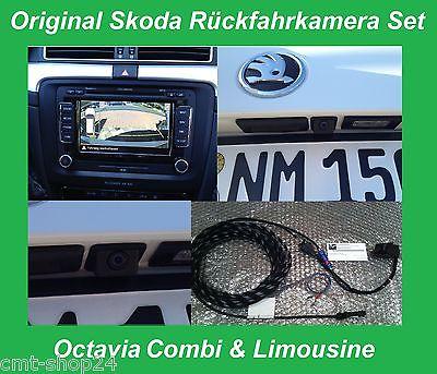 Original Skoda RVC RFK Rückfahrkamera Columbus Octavia Limousine Combi RS Kamera