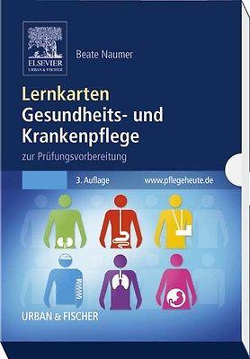 Lernkarten Gesundheits- und Krankenpflege, Beate Naumer