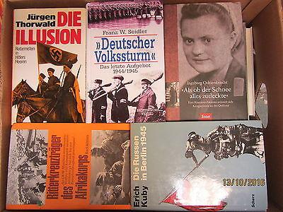 36 Bücher Dokumentation 2. Weltkrieg NSDAP 3. Reich Nationalsozialismus