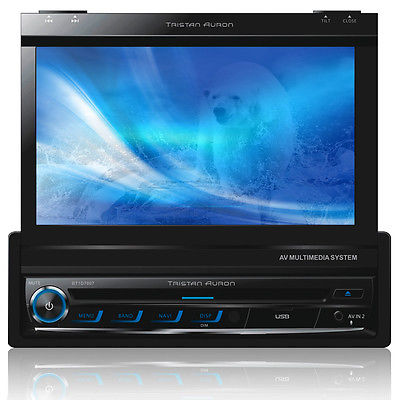 Autoradio GPS Navigation 7 Bluetooth Touchscreen MP3 Tristan Auron, USB, SD