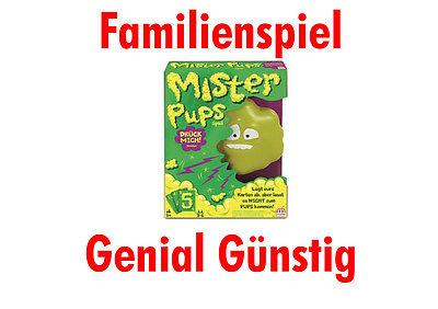 Mattel - Mister Pups, Spiel, Familienspiel NEU & OVP