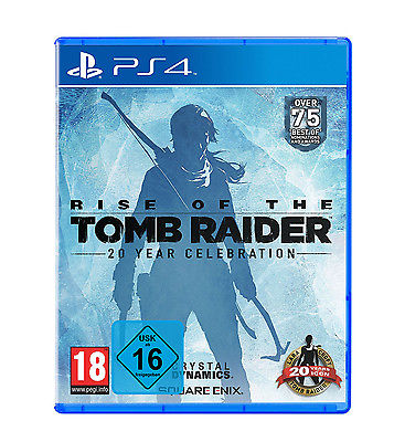 Rise of the Tomb Raider Day One Edition incl. Artbook PS4 Spiel *NEU OVP*