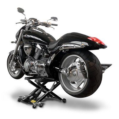 Motorrad Hebebühne ConStands Mid-Lift XL schwarz Montageständer Motorradheber