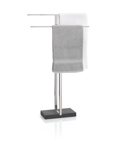 Blomus 68624 Doppel-Handtuchständer Menoto, Edelstahl matt