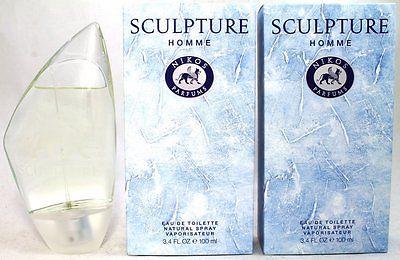 Nikos Sculpture Homme 2 x 100 ml Eau de Toilette EDT