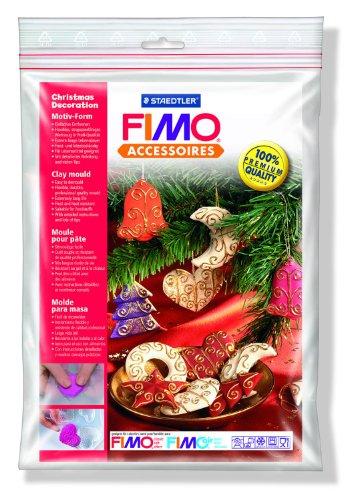 Staedtler 8742 Fimo accessoires Motiv-Form, Weihnachtsschmuck