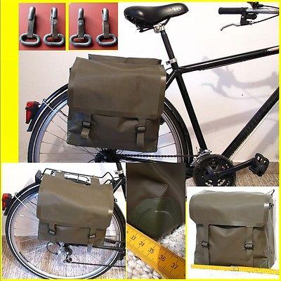2 Stk Seitentaschen Kevlar Moped Schwalbe S50 Satteltaschen Simson Fahrrad Rad