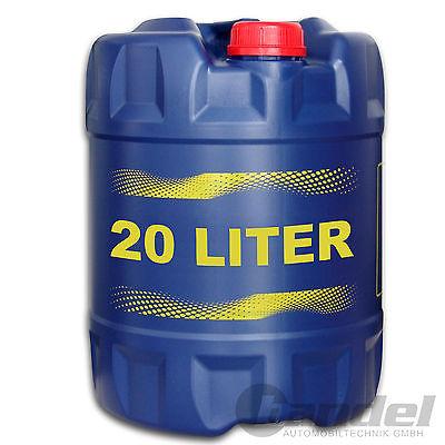 [1,95€/1L] 20 Liter SAE 10W-40 Mannol Defender Motoröl z.B.  VW, AUDI, MERCEDES