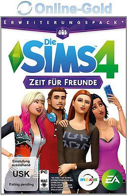 Die Sims 4 Zeit für Freunde Key - PC EA Origin The Sims 4 Get Together Addon EU