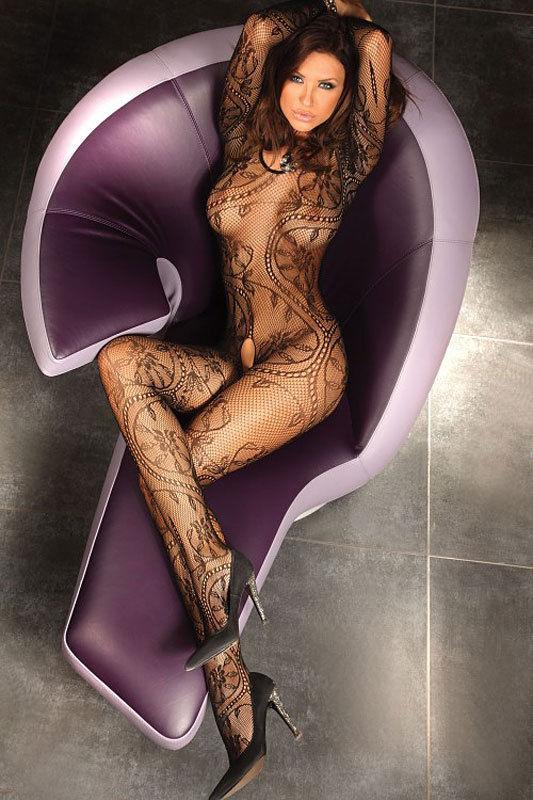 Netz Catsuit Abra, LivCo Corsetti in sexy Farben, Nylon, Body Stocking S-3XL Hot