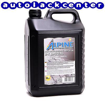 2-Taktöl Motoröl Teil-Synthetiköl Zweitaktöl ungefärbt von Alpine 5Liter M1141