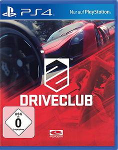 Sony Playstation 4 PS4 Spiel DriveClub Drive Club