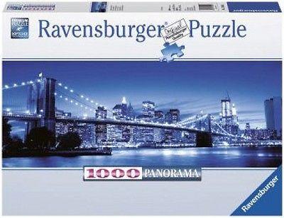 Ravensburger 15050 - Leuchtendes New York, Panorama Puzzle, 1000 Teile NEU