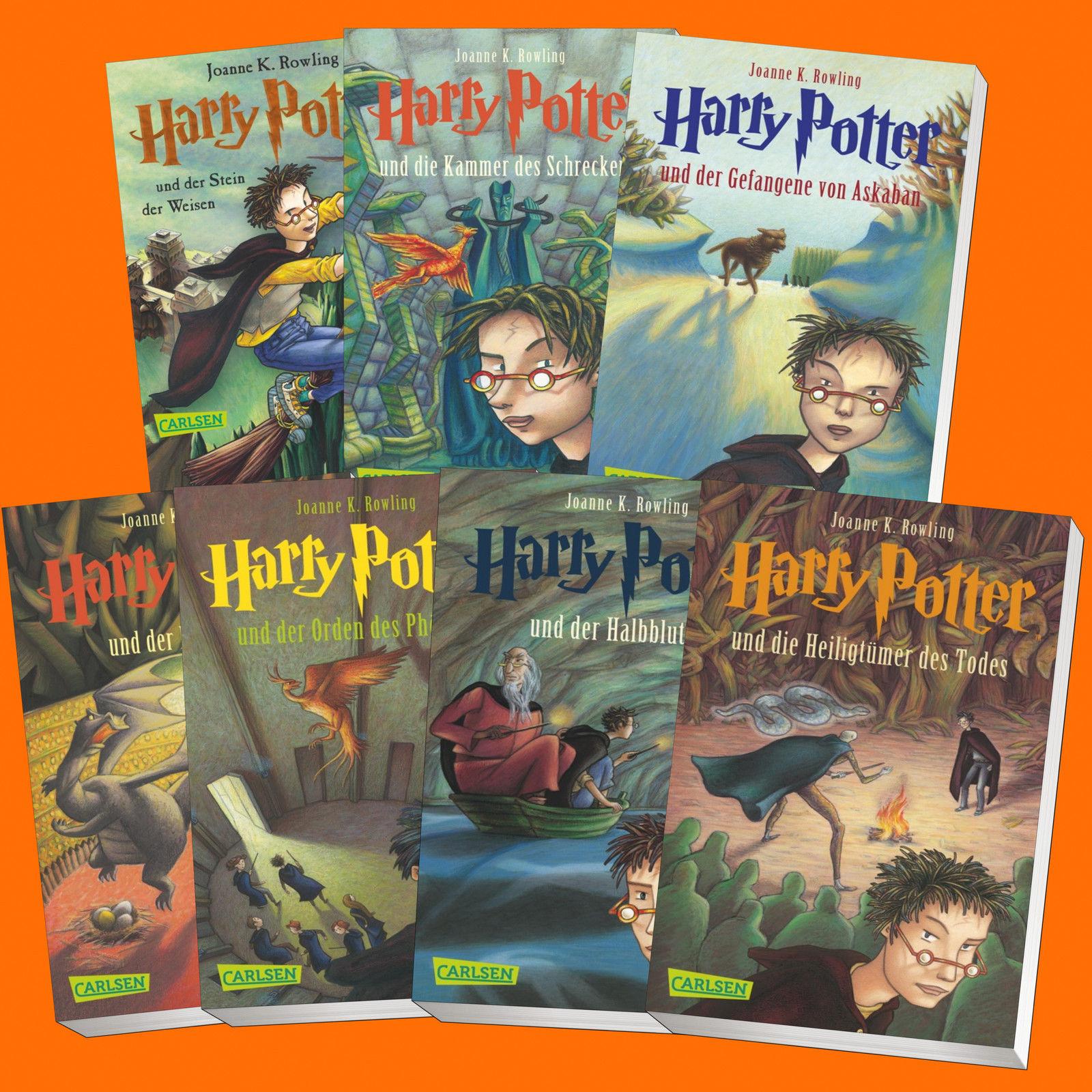 im Set: HARRY POTTER Band 1-7 | Joanne K. Rowling | 1+2+3+4+5+6+7 (Buch)