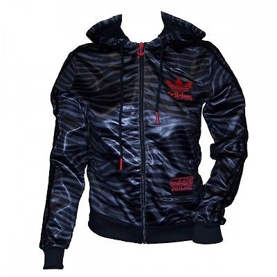 adidas Originals Damen Chile 62 Damenjacke Kapuzenjacke Jacke mit Kapuze