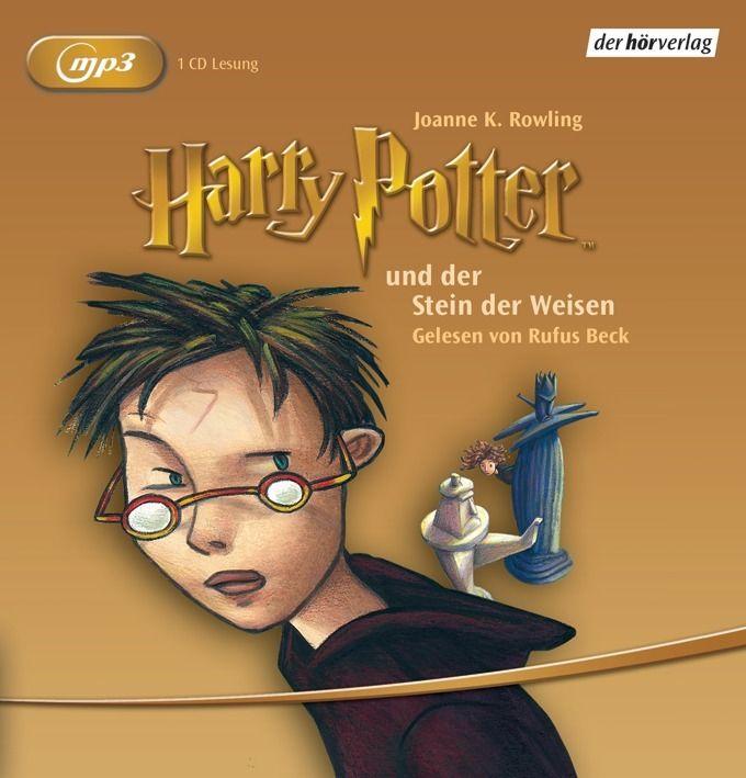 + Rowling HARRY POTTER und der Stein der Weisen MP3 HörBuch NEU Band 1