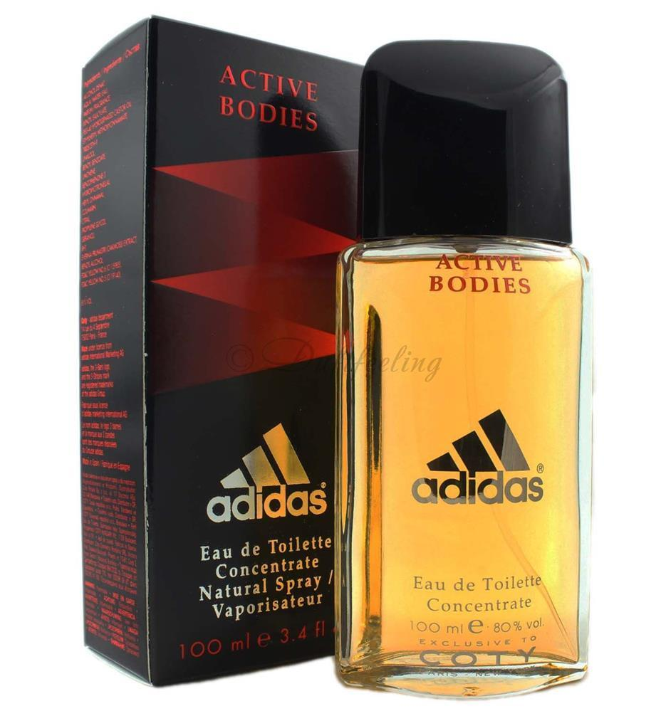 Adidas Active Bodies Concentrate Eau de Toilette 100 ml