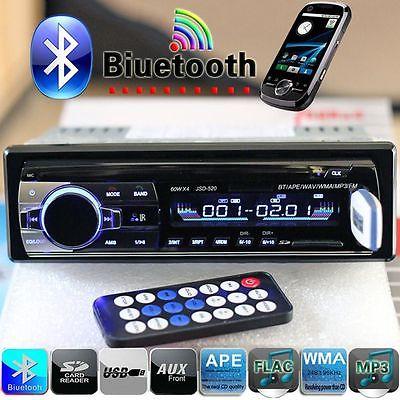 2016 Bluetooth Car Autoradio 1 DIN MP3/USB/SD/AUX-IN FM Radio Player Head Units