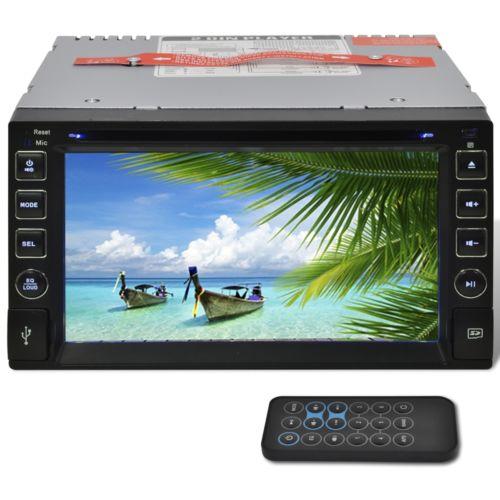 Multimedia Autoradio Mediaplayer Doppel Bluetooth 2 Din 6.2