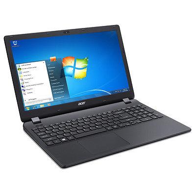 Notebook ACER Intel Quad Core 4x 2,4GHz - 500GB - 8GB - WINDOWS 7 Pro