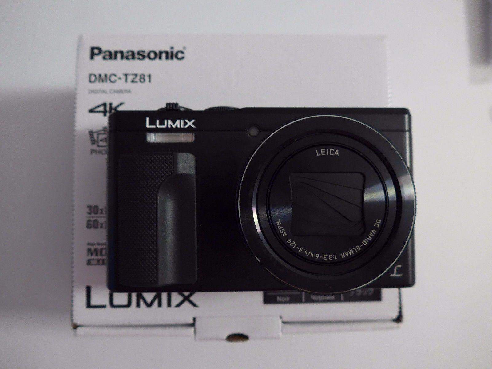 Panasonic Digitalkamera ? LUMIX DMC-TZ81 ? Aug. 2016 ? OVP
