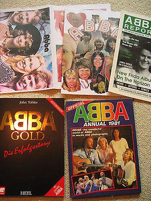 ABBA Bücher Magazine Poster collection