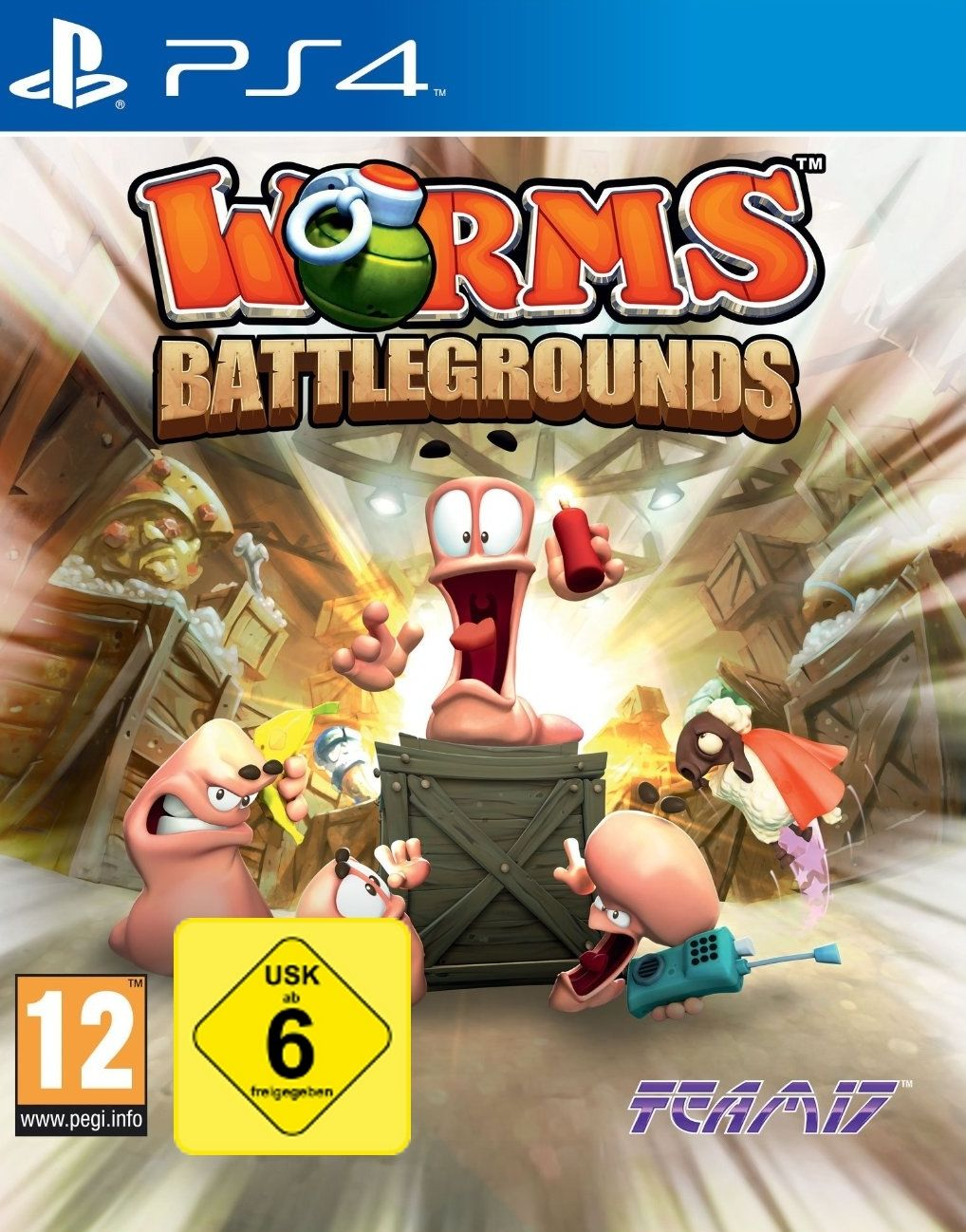 PS4 Spiel Worms Battlegrounds Neu&OVP Playstation 4