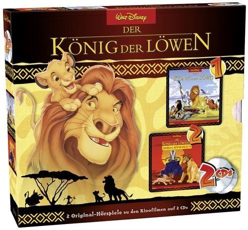 Der König der Löwen 1 + 2 - Original-Hörspiel zum Film - Hörbuch - CD - *NEU*
