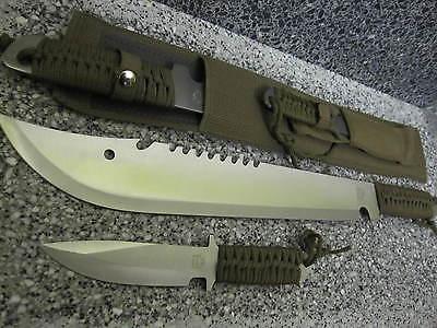 2in1 Messer MACHETE B-Ware Arbeitsmesser BUSCHMESSER Beil AXT Jagdmesser !